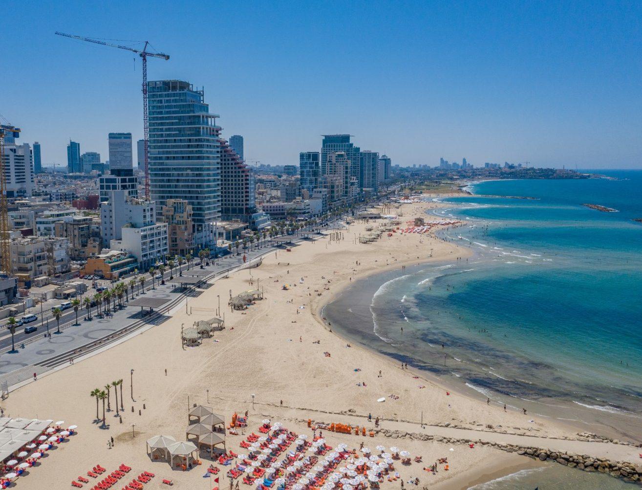 רצועת חוף הים של תל אביב-יפו