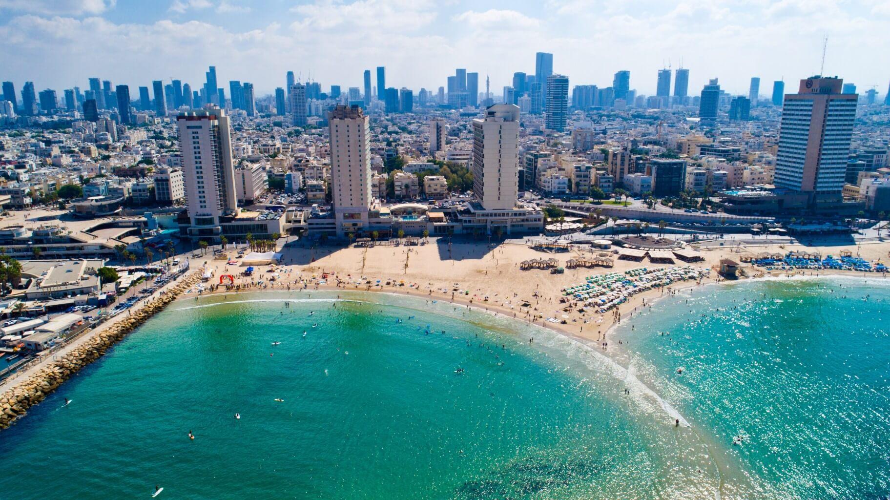 חופי תל אביב יפו