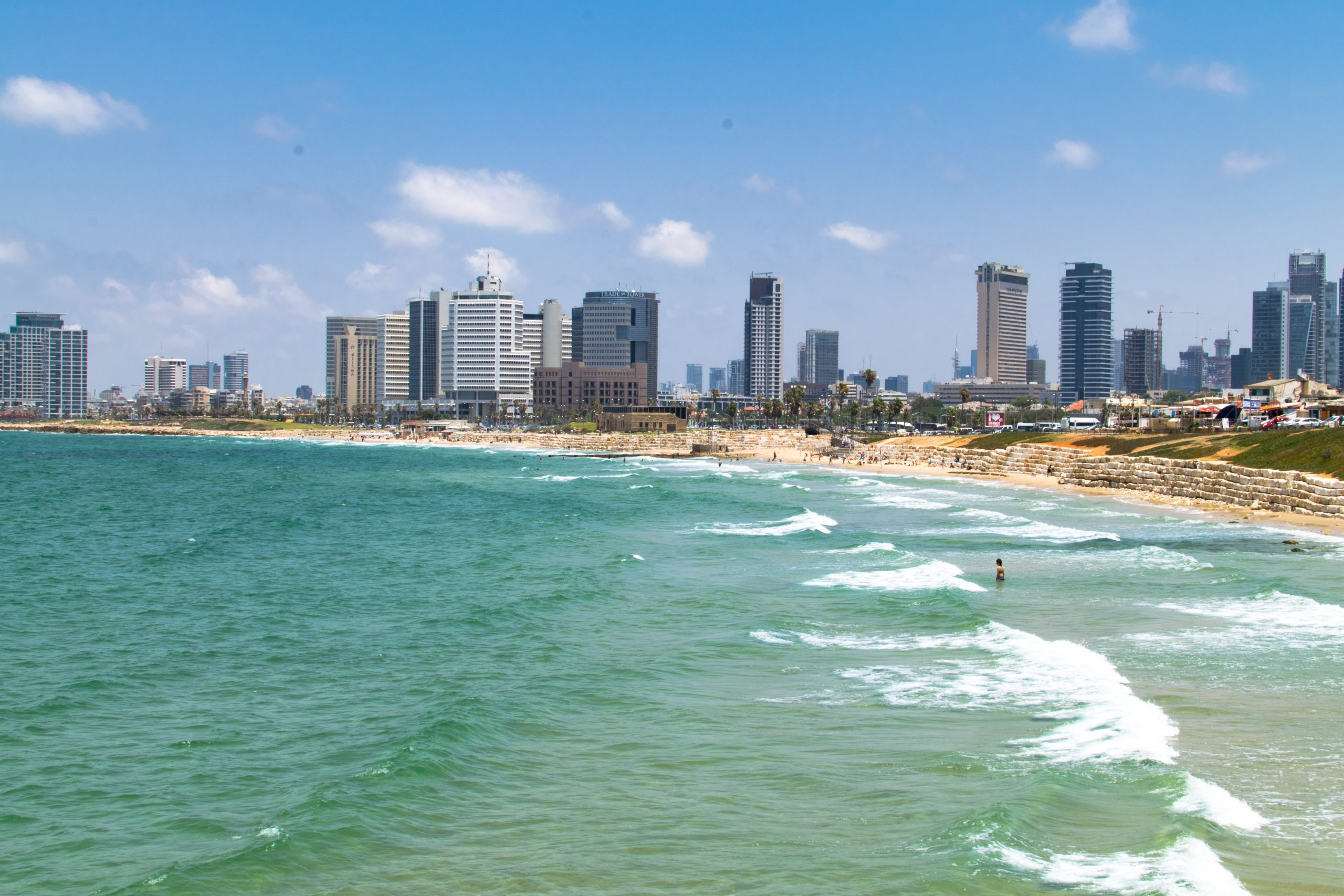 coastline of Tel Aviv - Jaffa